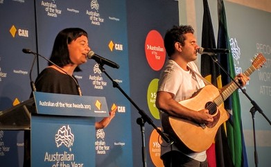 Microwave Jenny perform at Australian Of The Year NSW