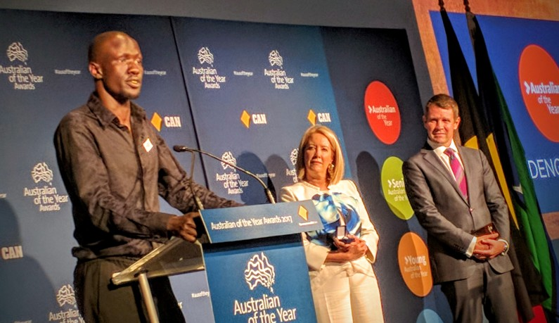 Refugee and lawyer, Deng Adut is NSW Australian Of The Year
