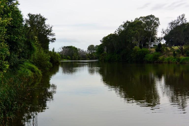 Wilson's River from near the Ballina Street Bridge