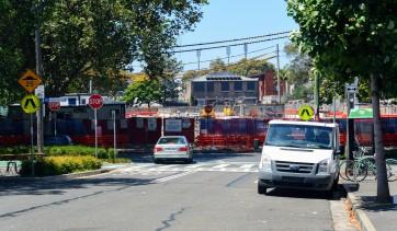 Devonshire Street Lightrail Construction