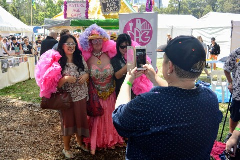 Sydney Gay and Lesbian Mardi Gras Fair Day