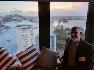 Sydney, viewed from the thirty-first floor of the Intercontinental Hotel