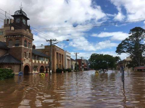Lismore Flood 2017 - source unsure