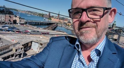 Stockholm from Katrinahissen 2017