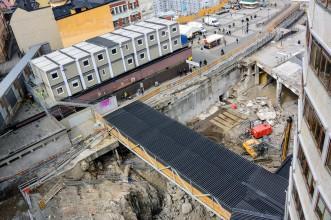 Slussen Construction