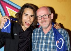 Isaiah Firebrace, Australia's entrant in the Eurovision Song Contest
