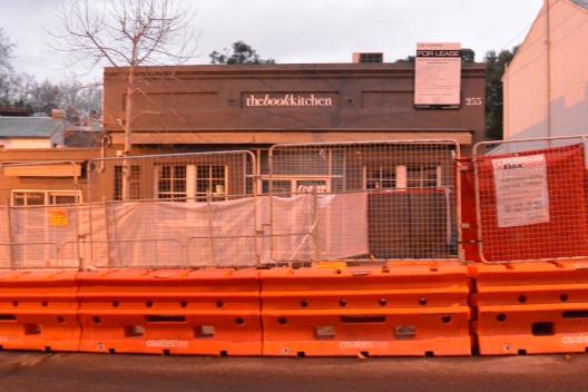 Book Kitchen closure due to Light Rail