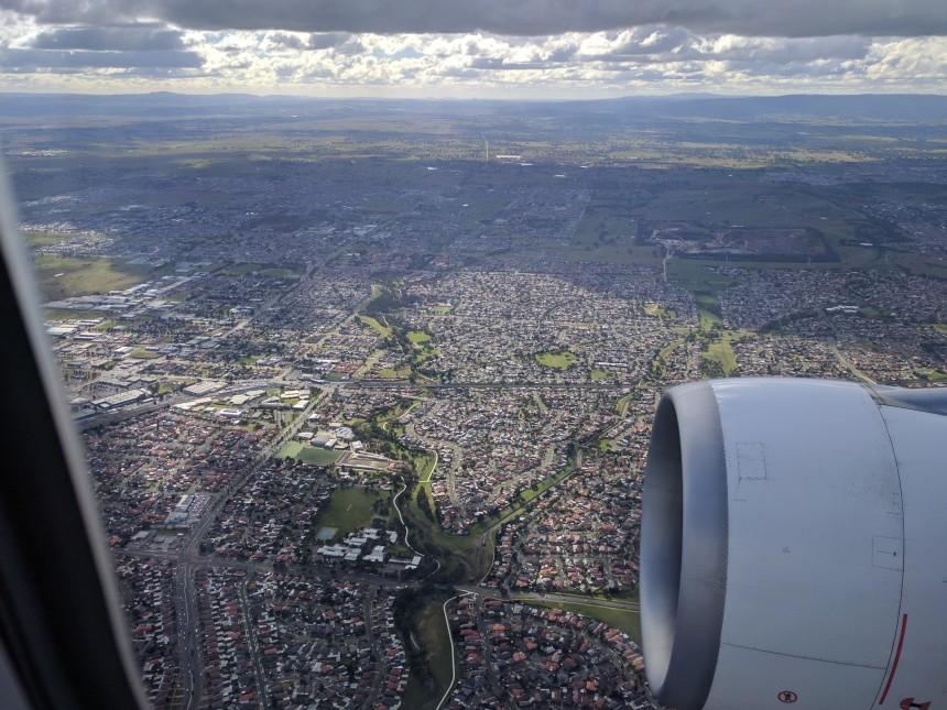 Flight to Melbourne
