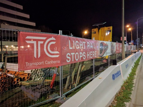 Light Rail in Canberra