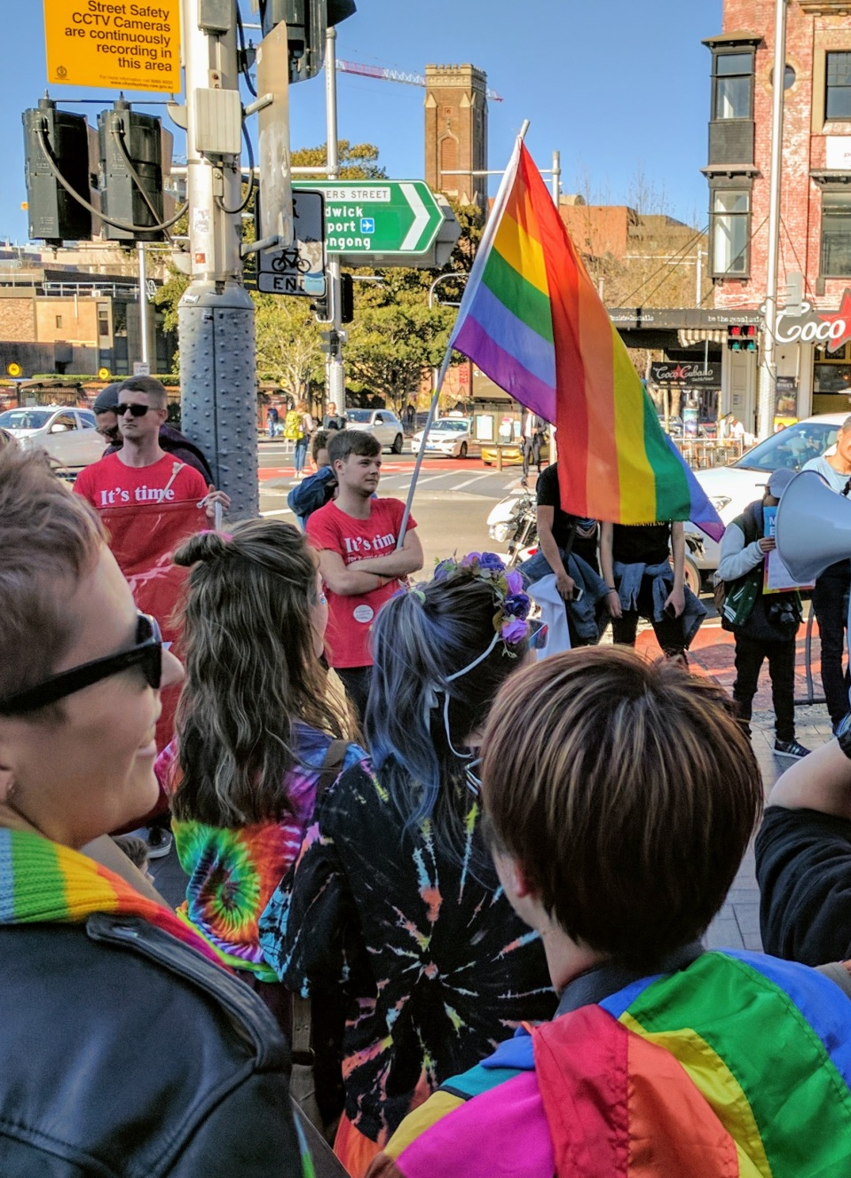 Marriage Equality Rally - Sydney 2