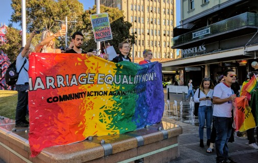 Marriage Equality Rally - Sydney 5