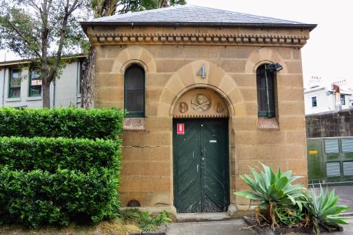 Darlighurst Gaol morge becomes National Art School power substation