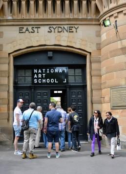 Darlinghurst Gaol becomes East Sydney Tech becomes National Art School