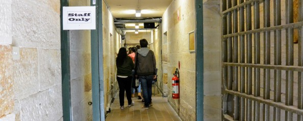 Darlinghurst Gaol prison tunnel