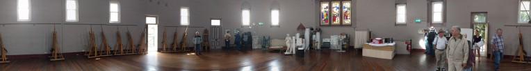 Life Drawing Room at National Art School, formerly Darlinghurst Gaol Chapel