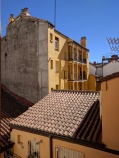 Apartment view in Madrid