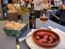 Chorizo at Chiquita Corner Cafe in Madrid