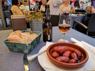 Chorizo at Chiquita Corner Cafe in Madrid