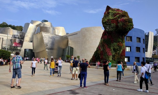 Jeff Koons - Puppy in Bilbao