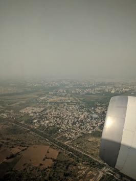 Leaving Delhi