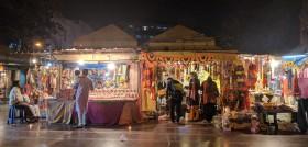 Market place in Delhi