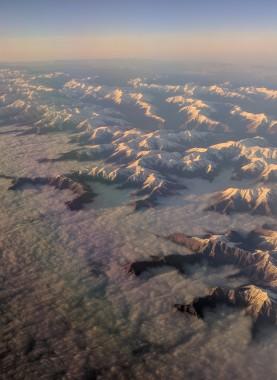 Mountain Range near Tsibilisi