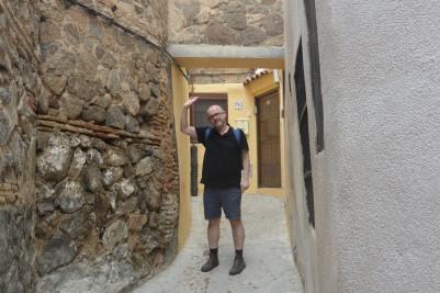 Visiting Toledo in Spain