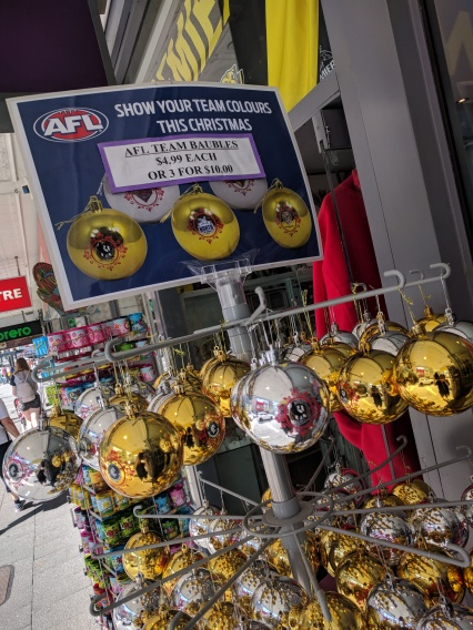 AFL Christmas Decorations