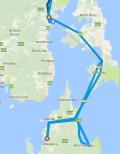 Bruny Map