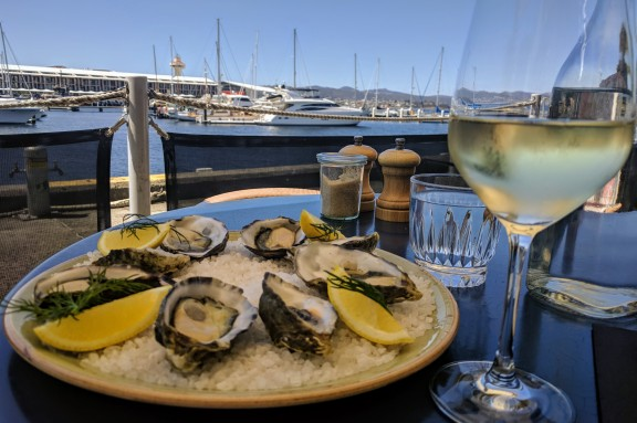 Oysters for Lunch