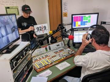 On Air Studio, Radio 92.9 Lismore