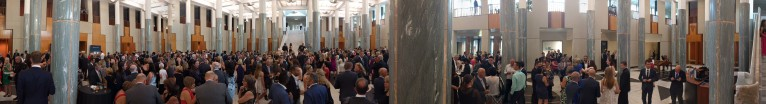 Australian Of The Year at Parliament House