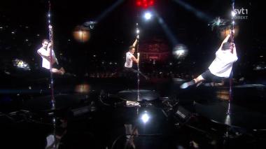 Melodifestivalen Pole Dancing