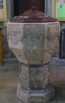 St Michaels Church Lichfield Font