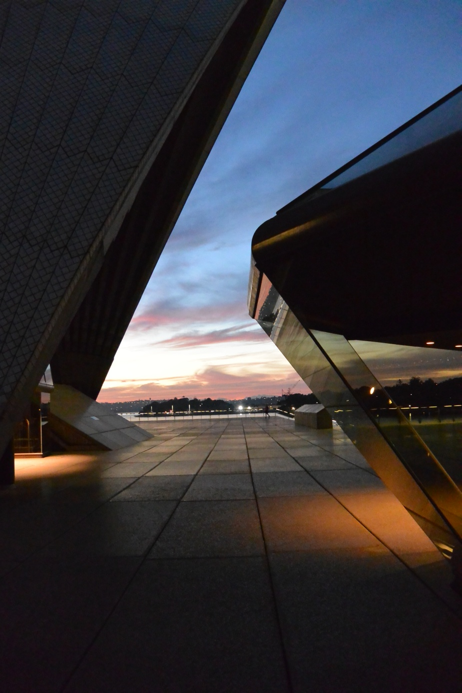 Sunrise at Sydney Opera House