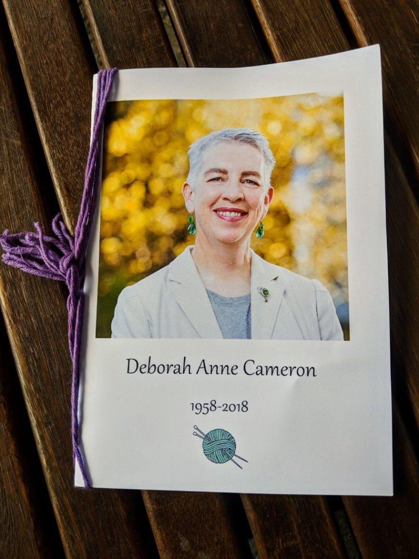 Deborah Cameron Funeral