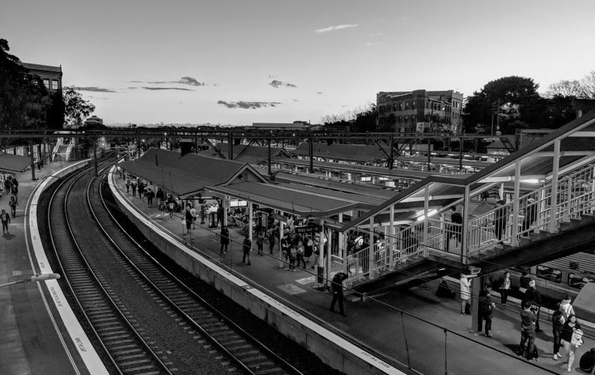Redfern Railway Station in Sydney