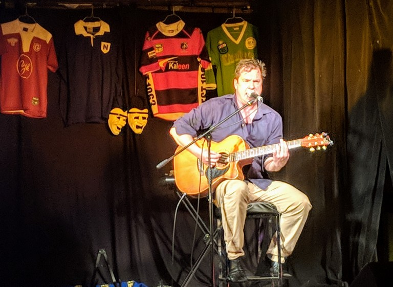 Denis Carnahan at Rugby League - The Musical