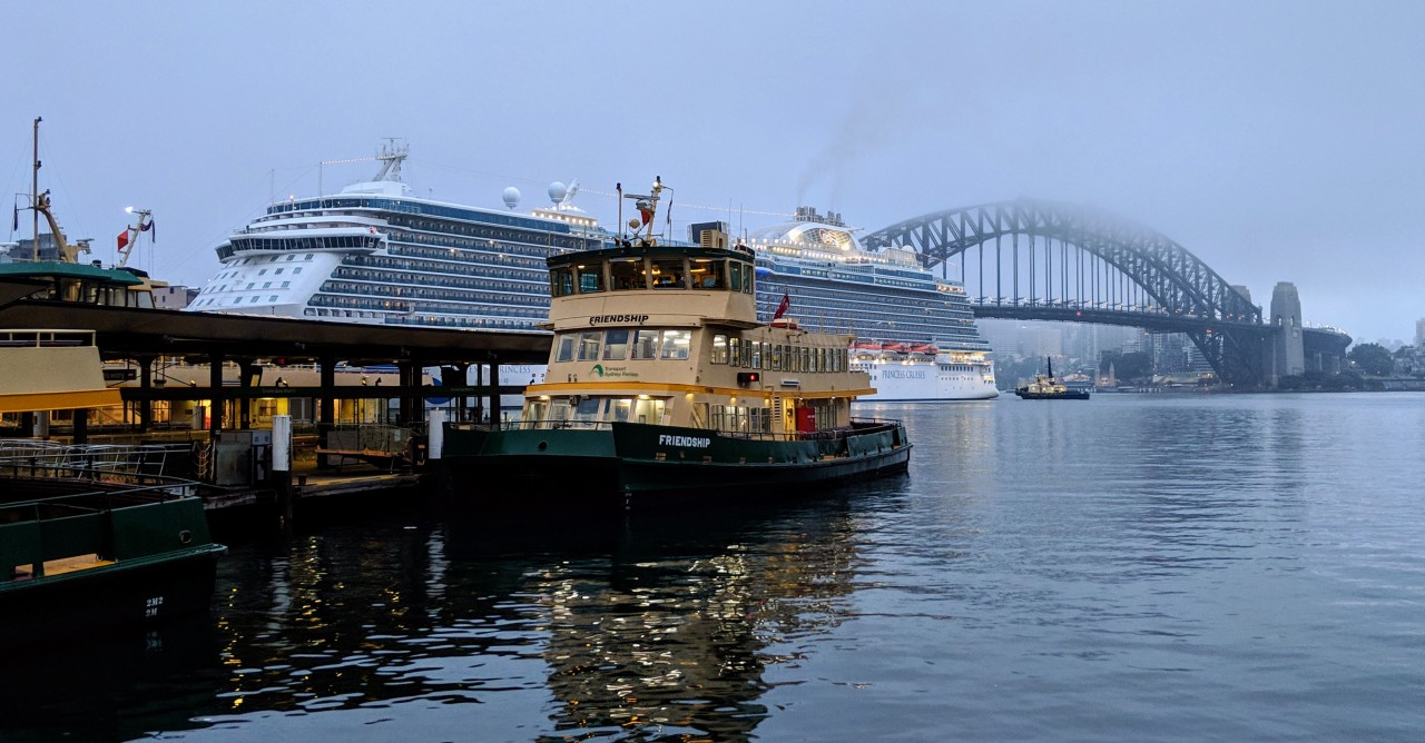 Foggy Morning at Circular Quay