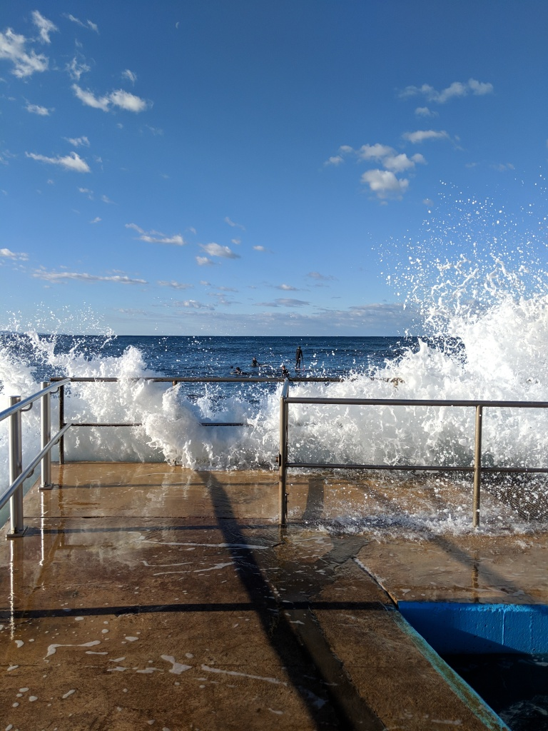 Late afternoon at Collaroy Beach, Sydney